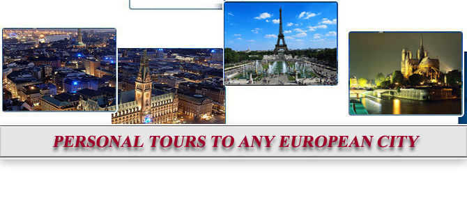 Personal tours to any European city